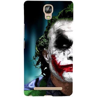 3D Designer Back Cover for Gionee Marathon M5 Plus :: Man with Multicolor on Face  ::  Gionee Marathon M5 Plus Designer Hard Plastic Case (Eagle-018)