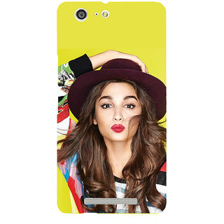 3D Designer Back Cover for Gionee Marathon M5 :: Famous Indian Celebrity  ::  Gionee Marathon M5 Designer Hard Plastic Case (Eagle-049)