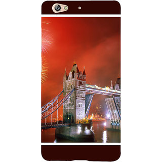 3D Designer Back Cover for Gionee S6 :: Tower Bridge in London  ::  Gionee S6 Designer Hard Plastic Case (Eagle-071)