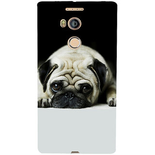 3D Designer Back Cover for Gionee Elife E8 :: Cute Baby Dog  ::  Gionee Elife E8 Designer Hard Plastic Case (Eagle-093)