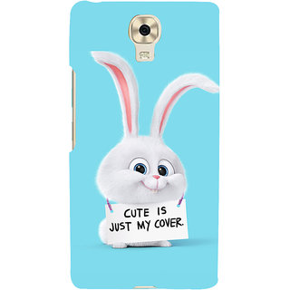 3D Designer Back Cover for Gionee Marathon M6 :: Cute is Just my Cover  ::  Gionee Marathon M6 Designer Hard Plastic Case (Eagle-104)