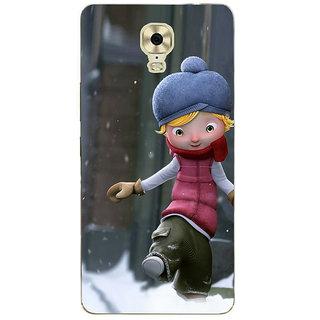3D Designer Back Cover for Gionee Marathon M6 Plus :: Animated Catoon Boy  ::  Gionee Marathon M6 Plus Designer Hard Plastic Case (Eagle-113)