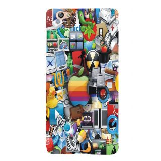 3D Designer Back Cover for Gionee S6 :: Symbols  ::  Gionee S6 Designer Hard Plastic Case (Eagle-001)