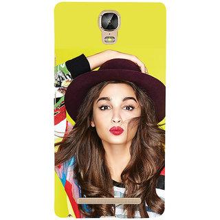 3D Designer Back Cover for Gionee Marathon M5 Plus :: Famous Indian Celebrity  ::  Gionee Marathon M5 Plus Designer Hard Plastic Case (Eagle-049)