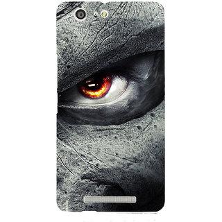 3D Designer Back Cover for Gionee Marathon M5 :: Dragon Eyes  ::  Gionee Marathon M5 Designer Hard Plastic Case (Eagle-064)