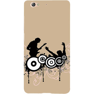 3D Designer Back Cover for Gionee S6 :: Drum and Guitar  ::  Gionee S6 Designer Hard Plastic Case (Eagle-076)