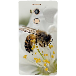 3D Designer Back Cover for Gionee Elife E8 :: Honey Bee  ::  Gionee Elife E8 Designer Hard Plastic Case (Eagle-010)
