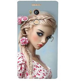 3D Designer Back Cover for Gionee Elife E8 :: girl  ::  Gionee Elife E8 Designer Hard Plastic Case (Eagle-025)