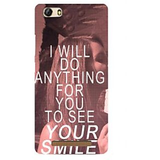 3D Designer Back Cover for Gionee Marathon M5 Lite :: I will do anything for You to See Your Smile  ::  Gionee Marathon M5 Lite Designer Hard Plastic Case (Eagle-217)