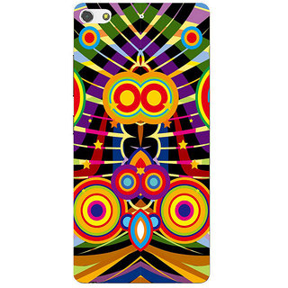 3D Designer Back Cover for Gionee S7 :: Musical Waves  ::  Gionee S7 Designer Hard Plastic Case (Eagle-143)