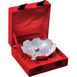 Rangsthali High-Class Silver Plated Designer Bowl Set With Spoon Set Of 2 Pcs