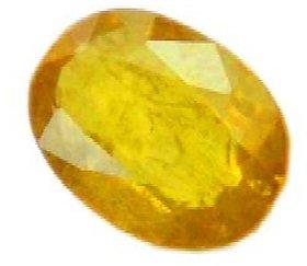 J F Natural Pukhraj Gemstone Of 5.25 Ratti