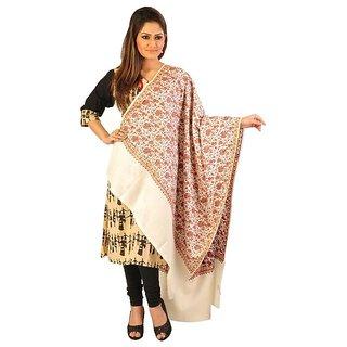 Pashmina Groovy Kashmiri Multicolor Emroidered Shawl Wrap