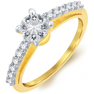 Sukkhi Gold Plated Gold Alloy Ring for Women