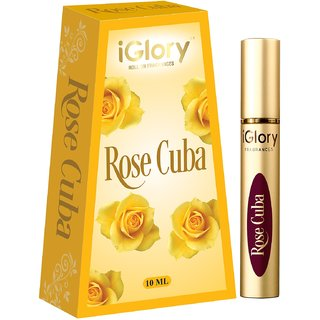 iGlory Roll On Fragrances - Alcohol Free Premium Scents - Rose Cuba
