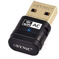 ESYNiC USB WiFi Adapter Gold AC 600Mbps Dual Band WiFi