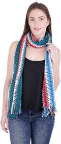 iLiv Multicolor Floral Viscose Women's Shawl