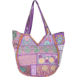 Jewel Fab Art Brilliant Vintage Banjara Handmade Designer Beautiful Flower Trendy Shoulder Bag
