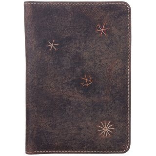 PRODIGY Brown Passport Wallet PG007