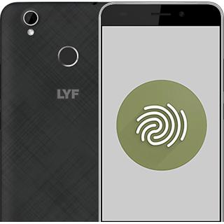LYF Water 7S (3 GB, 16 GB, Black)