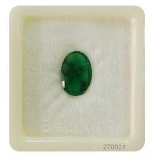 Barmunda Gems 07.25 Ratti Certified Natural Precious Gemstone Emerald (Panna)