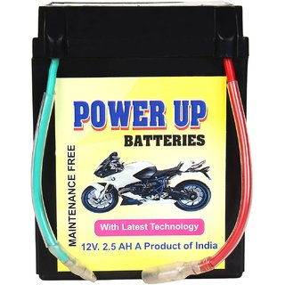 Motorcycle Battery 12Volt 2.5AH