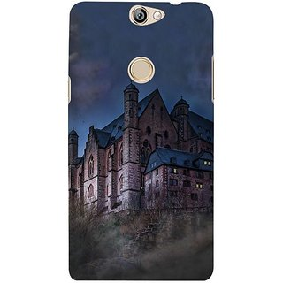 Fuson Designer Phone Back Case Cover Coolpad Max ( A Haunting Experience )