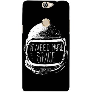 Fuson Designer Phone Back Case Cover Coolpad Max ( The Individual Demands Space )