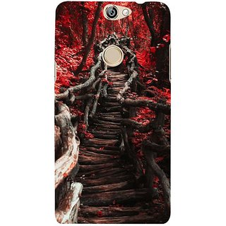 Fuson Designer Phone Back Case Cover Coolpad Max ( Woody Path To The Forest )