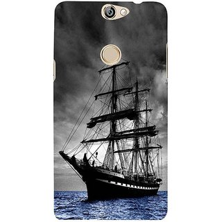 Fuson Designer Phone Back Case Cover Coolpad Max ( Ocean Beauty )