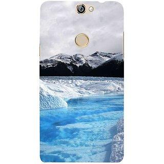 Fuson Designer Phone Back Case Cover Coolpad Max ( Mesmerising Snowfall )