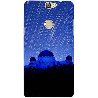 Fuson Designer Phone Back Case Cover Coolpad Max ( Magical Night Sky )
