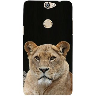 Fuson Designer Phone Back Case Cover Coolpad Max ( Lion Looking Out )
