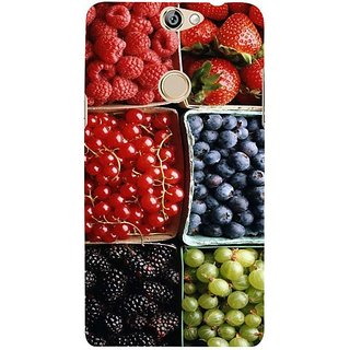 Fuson Designer Phone Back Case Cover Coolpad Max ( Box Of Various Berries )