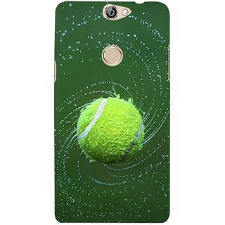 Fuson Designer Phone Back Case Cover Coolpad Max ( The Playful Tennis Ball )