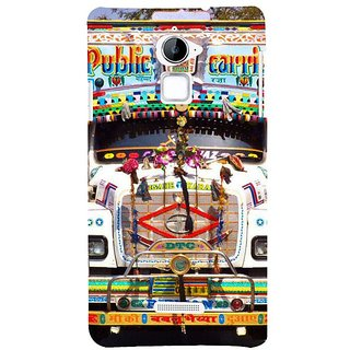 Fuson Designer Phone Back Case Cover Coolpad Note 3 Lite :: Coolpad Note 3 Lite Dual SIM ( The Front Of The Truct )