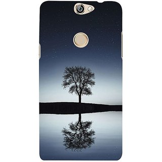 Fuson Designer Phone Back Case Cover Coolpad Max ( Single Tree Viewed At Night )
