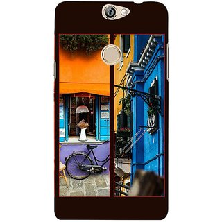 Fuson Designer Phone Back Case Cover Coolpad Max ( Colourful Walls )