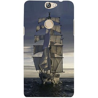 Fuson Designer Phone Back Case Cover Coolpad Max ( Returning From A Journey )
