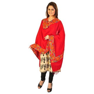 Pashmina Ideal Multicolor Cotton Printed Stoles