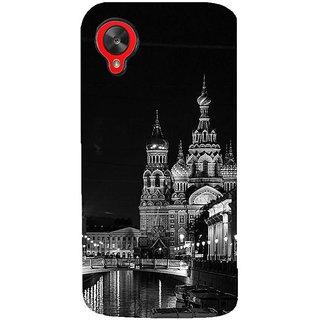 Fuson Designer Phone Back Case Cover LG Nexus 5 :: LG Google Nexus 5 :: Google Nexus 5 ( Calming Walk At Night In Russia )