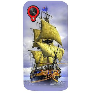 Fuson Designer Phone Back Case Cover LG Nexus 5 :: LG Google Nexus 5 :: Google Nexus 5 ( A Ship In The Ocean )