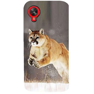 Fuson Designer Phone Back Case Cover LG Nexus 5 :: LG Google Nexus 5 :: Google Nexus 5 ( A Jaguar Pouncing )