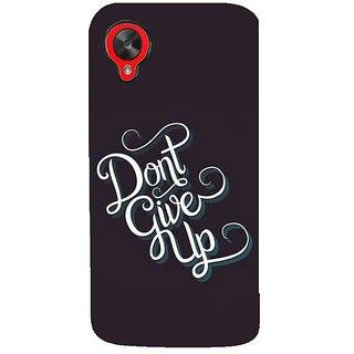 Fuson Designer Phone Back Case Cover LG Nexus 5 :: LG Google Nexus 5 :: Google Nexus 5 ( The Ultimate Motivation )