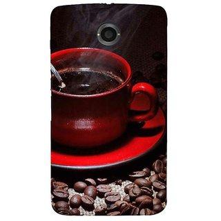 Fuson Designer Phone Back Case Cover Motorola Nexus 6 :: Motorola Nexus X :: Motorola Moto X Pro :: Google Nexus 6 ( A Cup Of Hot Coffee )