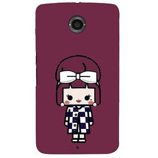 new product d771e 1bd7f Fuson Designer Phone Back Case Cover Motorola Nexus 6 :: Motorola Nexus X  :: Motorola Moto X Pro :: Google Nexus 6 ( Small Girl With A Bow )