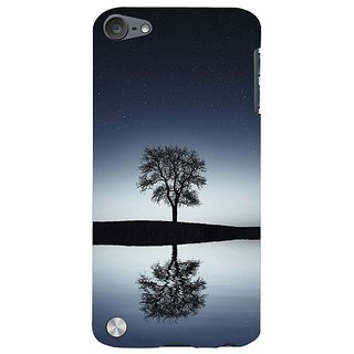 Fuson Designer Phone Back Case Cover Apple IPod Touch 5 :: Apple IPod 5 (5th Generation) ( Single Tree Viewed At Night )