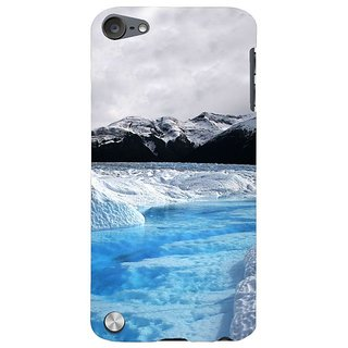 Fuson Designer Phone Back Case Cover Apple IPod Touch 5 :: Apple IPod 5 (5th Generation) ( Mesmerising Snowfall )