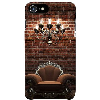 Fuson Designer Phone Back Case Cover Apple IPhone 7 ( The Vintage Armchair )