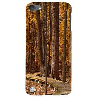 Fuson Designer Phone Back Case Cover Apple IPod Touch 5 :: Apple IPod 5 (5th Generation) ( The Road Less Travelled )